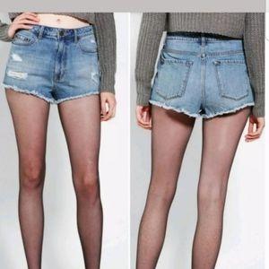 BDG High Rise Dree Cheeky Jean Shorts